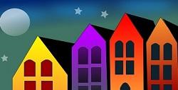Disegno di case