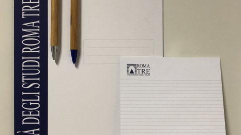 Kit cartellina blocco penna