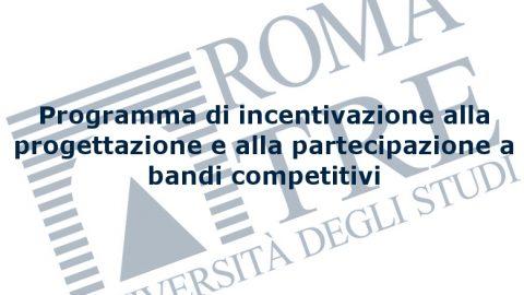 Logo programma incentivazione progettazione