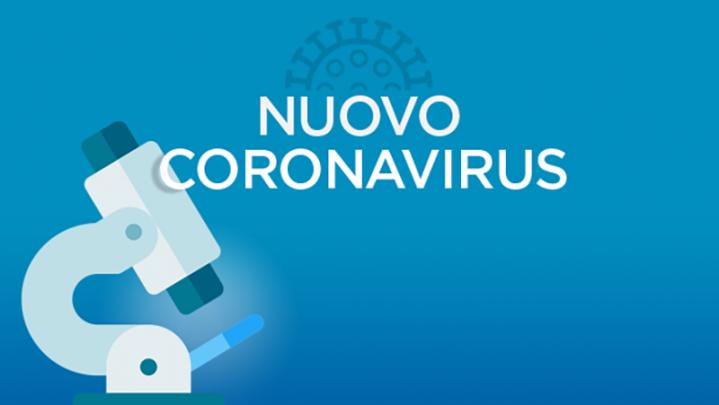 nuovo coronavirus con microscopio